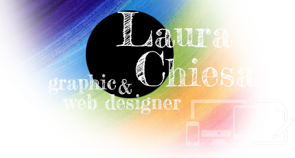 Laura Chiesa, graphic & web designer a Genova