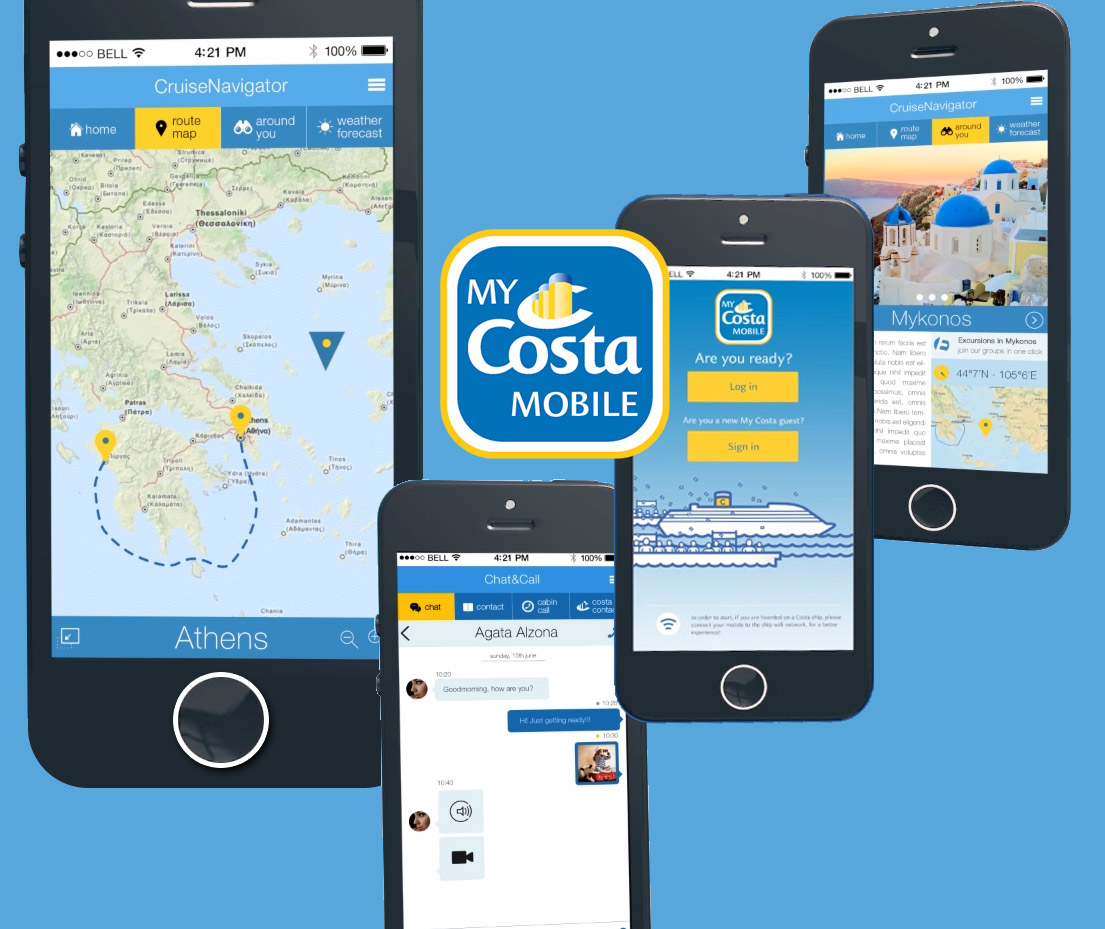App My Costa Mobile