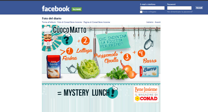 Piattaforma multimediale Beneinsieme: Social media management, Facebook, Pinterest, campagne online.